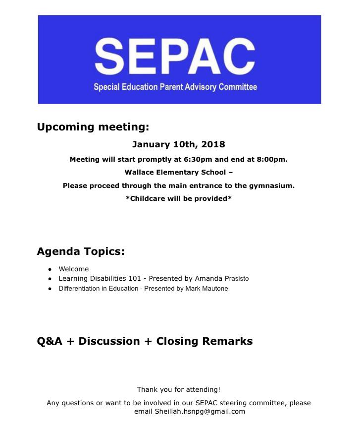 SEPAC Jan '19