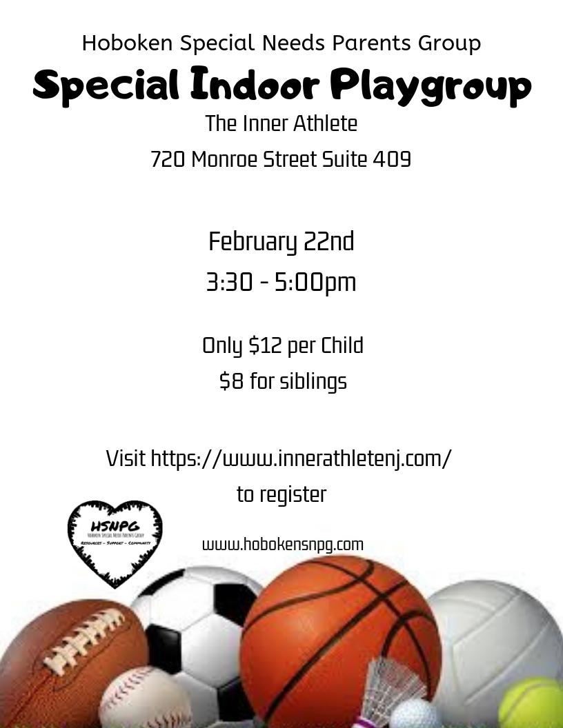 Special Indoor Playgroup TIA
